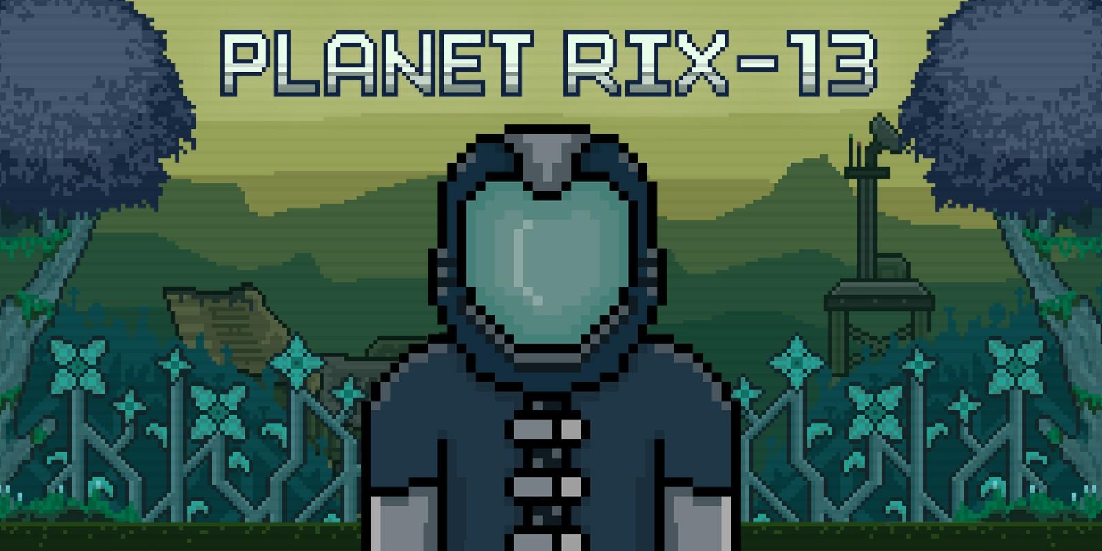 hight resolution of planet rix 13