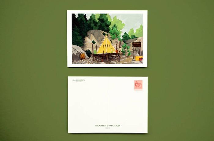 來自布達佩斯大飯店!魏斯安德森的電影明信片 - 設計誌.讀設計 - Pinkoi