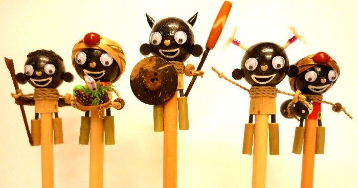 人偶鉛筆跟大家說聲新年快樂!!! - 設計誌.讀設計 - Pinkoi