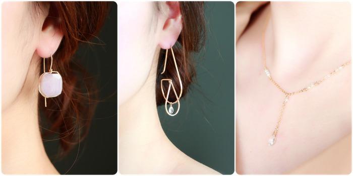 日本飾品推薦 耳環 項鍊