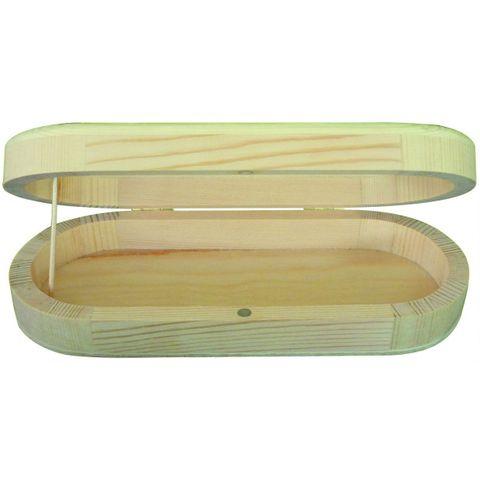 porte lunettes 180x75x35mm en bois brut a decorer support a peindre pour les loisirs creatifs