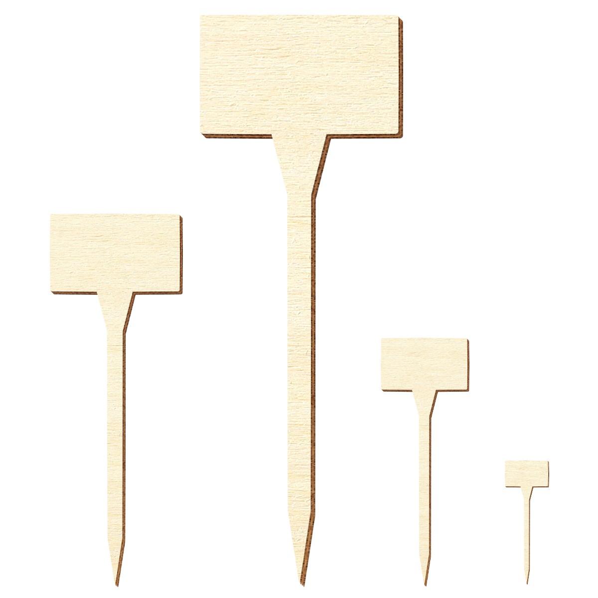 Sperrholz Zuschnitte - Holzschild Eckig - Größenauswahl - Pappel 3Mm