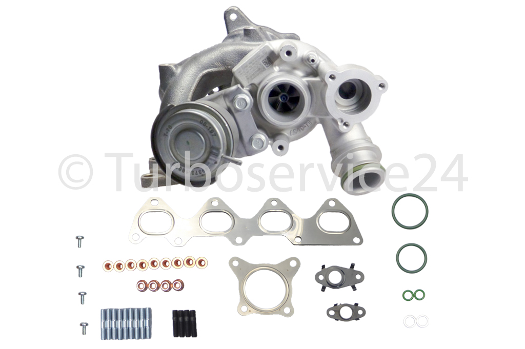 Re-manufactured Turbocharger for Audi A1, A3 1.4 TFSI