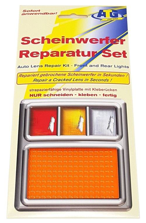 small resolution of atg lens repair quick fix tail light turn signal and marker plastic sheet orange