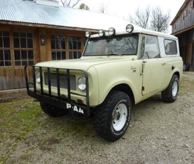 1967 International Scout For Sale In Cadillac Mi