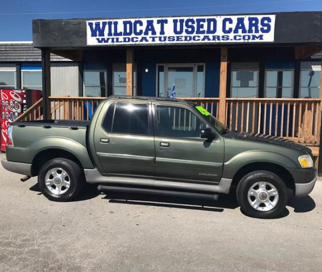 2001 Ford Explorer Sport Trac 4dr 4wd Crew Cab Sb In Somerset Ky Wildcat Used Cars