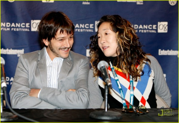 "Diego Luna & Sandra Join "" Jury"" 865441 Jared"