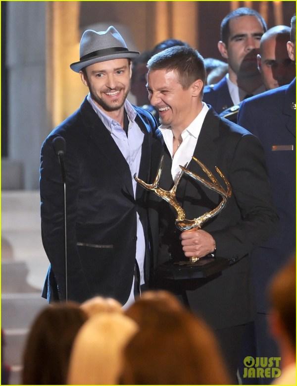 Adam Sandler and Justin Timberlake