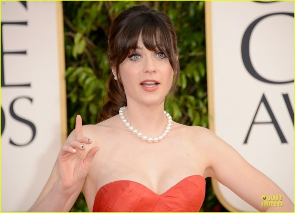 Zooey Deschanel - Golden Globes 2013 Red Carpet 2790864