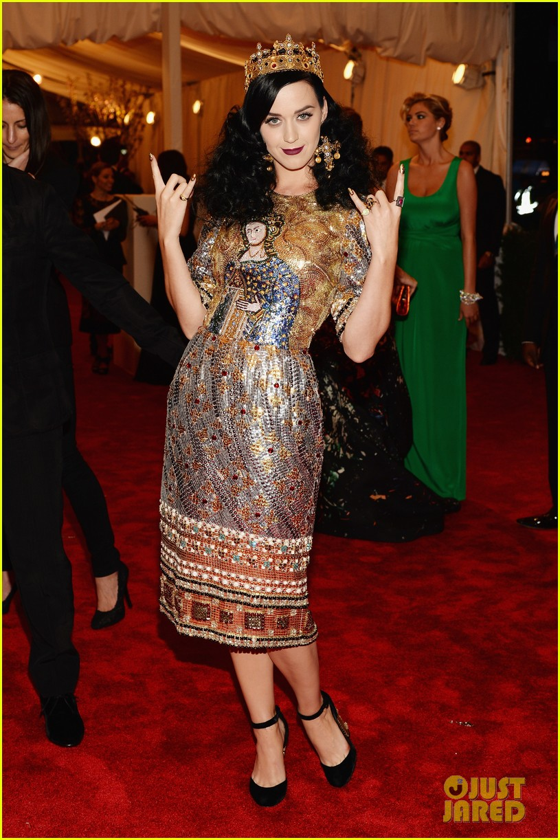 Katy Perry in Dolce & Gabbana at the 2013 Met Gala