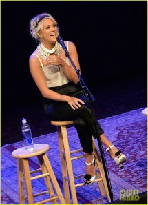 Carrie Underwood 'two Black Cadillacs' Fan Club Party