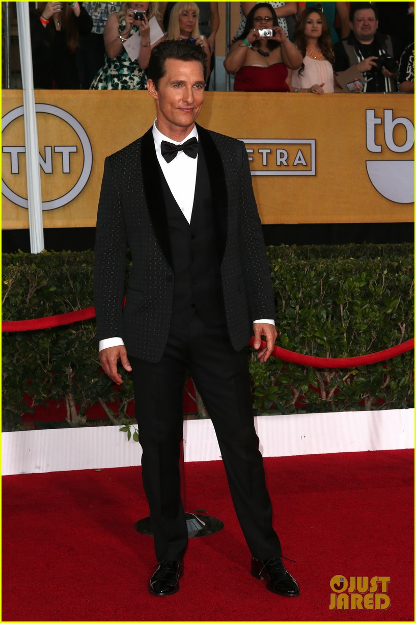 Matthew McConaughey | SAG Awards Best Dressed | The 1000th Voice Blog
