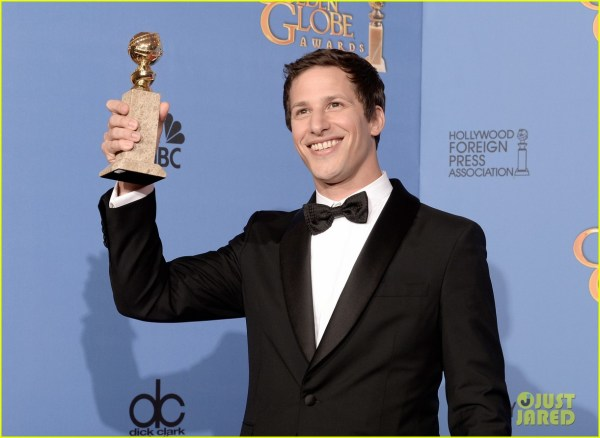Andy Samberg Wins Tv' Comedy Actor Golden Globes 2014 3029639