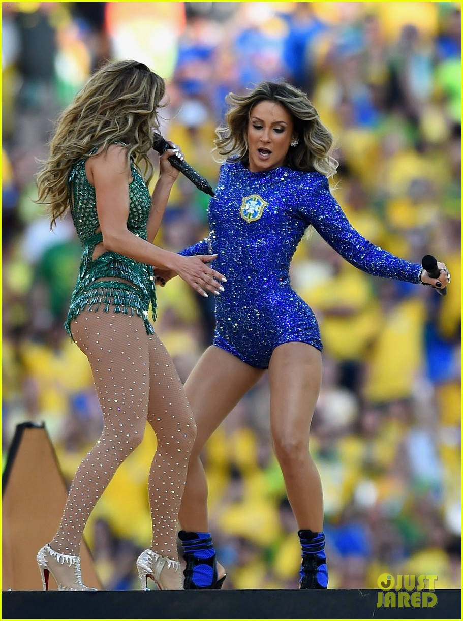 jennifer lopez performs at world cup 2014 opening ceremony with pitbull claudia leitte 12