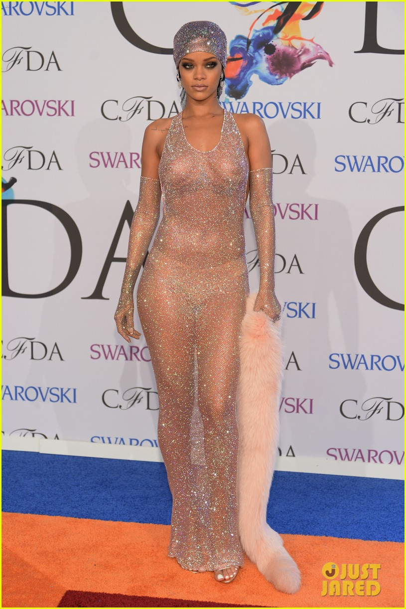 rihanna sheer dress cfda fashion awards 2014 03
