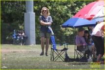 Britney Spears Proud Skate Mom Jayden James & Sean