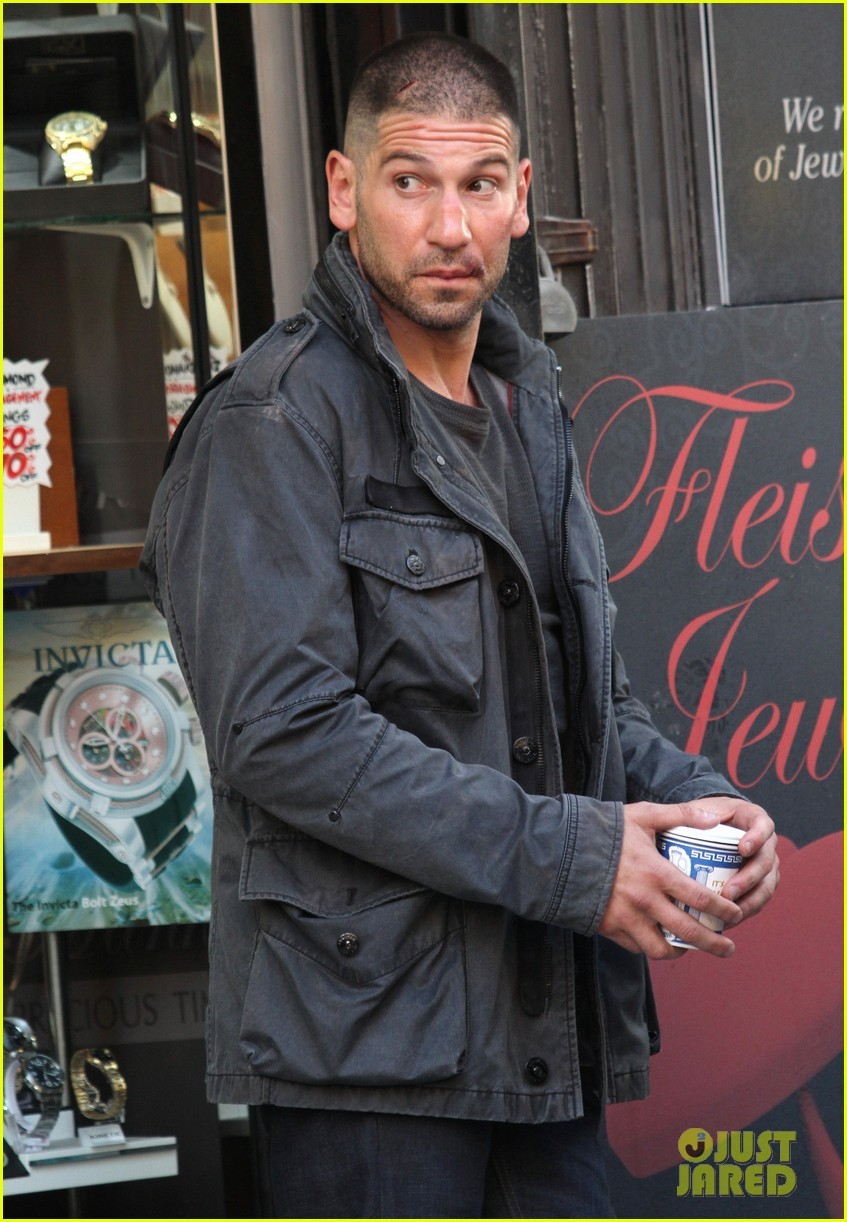 Un mejor vistazo a Jon Bernthal como The Punisher