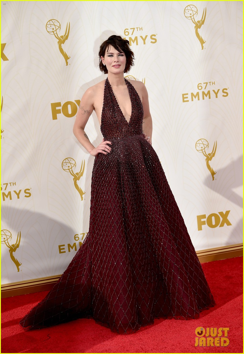 Game Of Thrones Star Lena Headey Sparkles At The Emmys Photo 3467088 2015 Emmy Awards