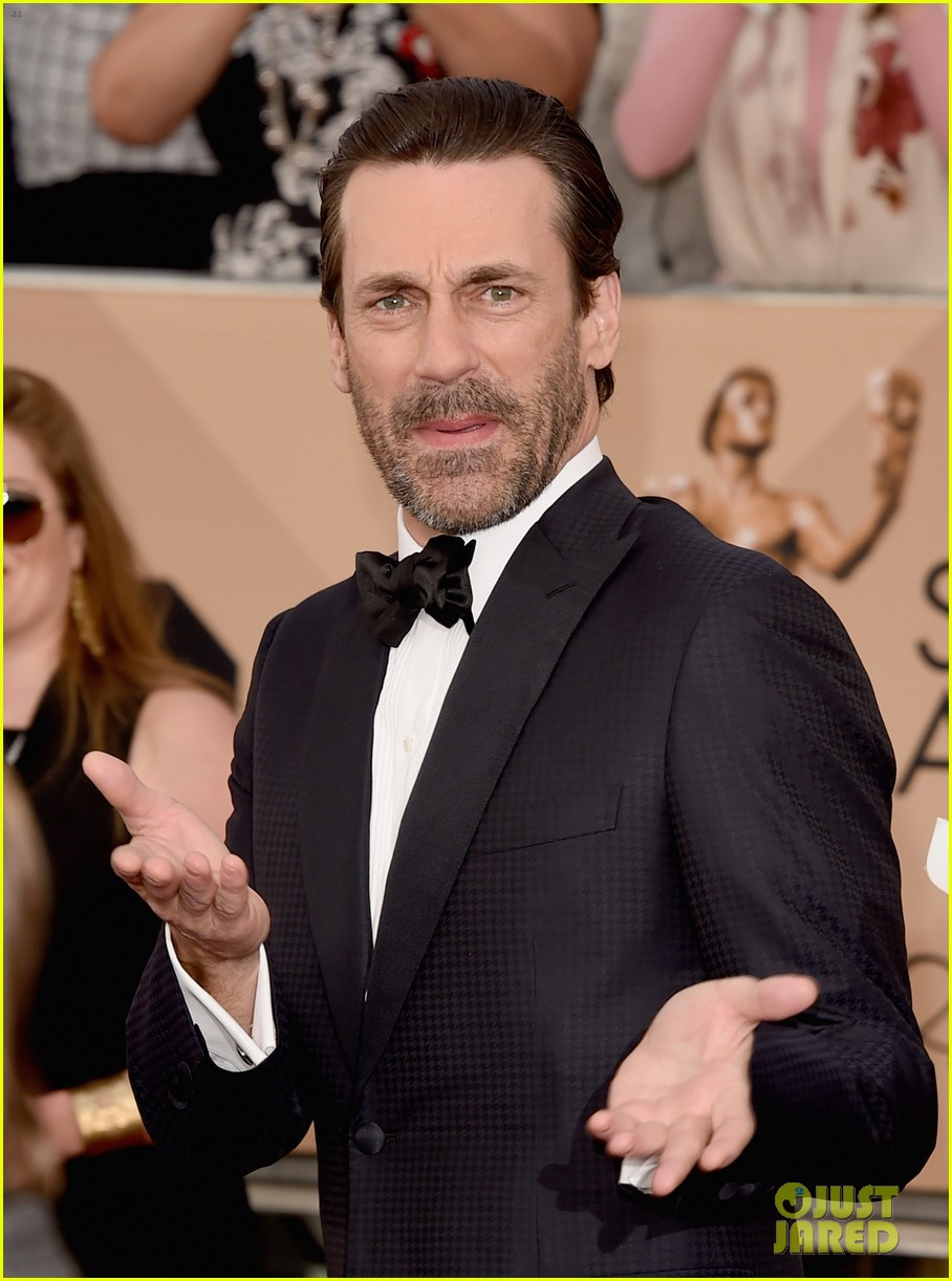 Jon Hamm Amp January Jones Bring Mad Men To SAG Awards