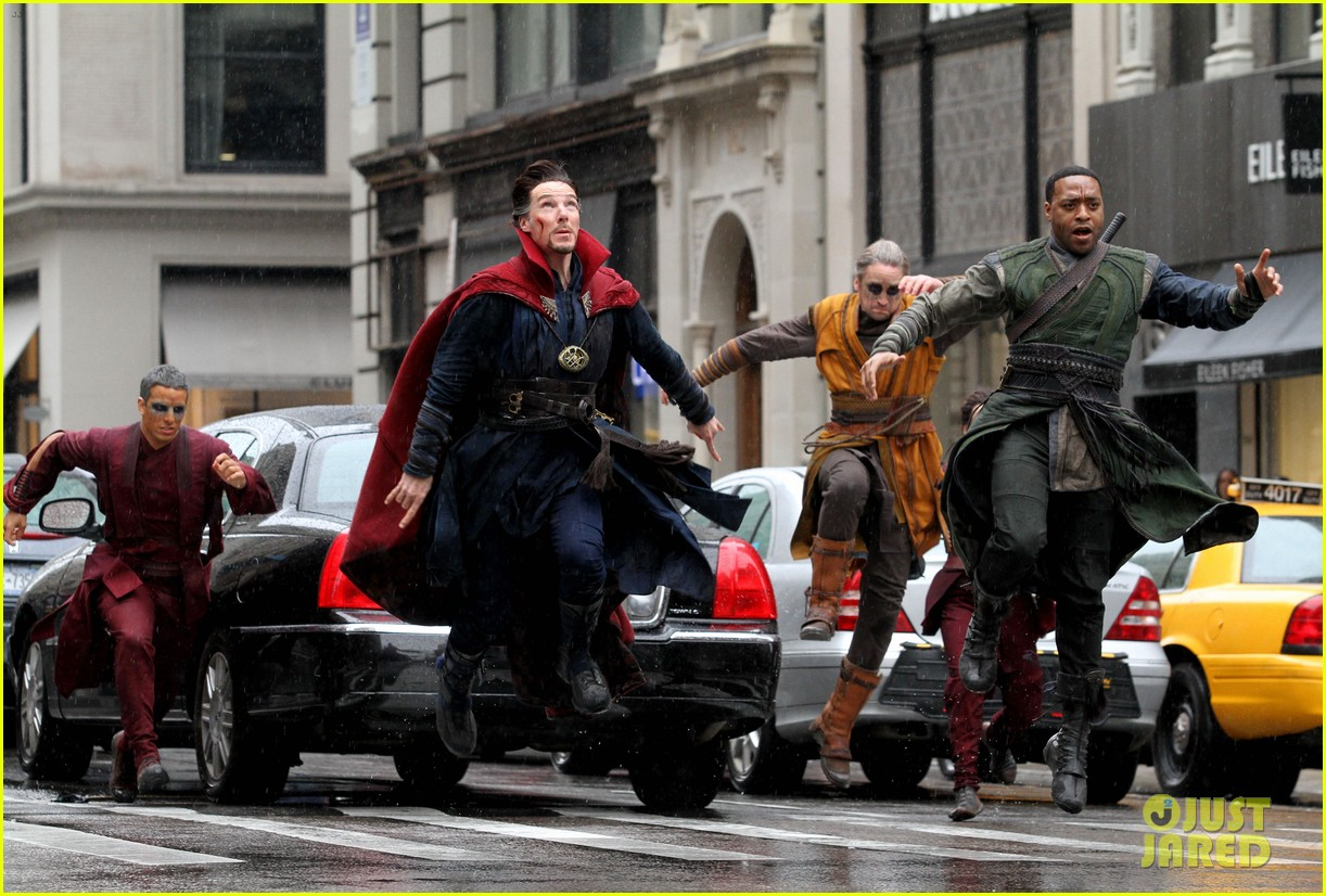 benedict cumberbatch films doctor strange in nyc first pics 35