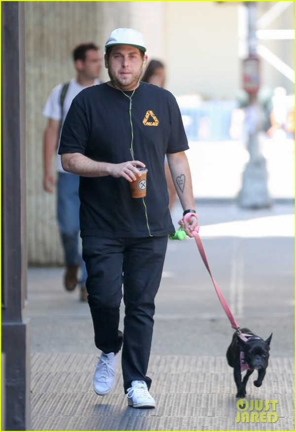 Jonah Hill Stars In Funny 'palace X Reebok' Ad - Watch 3700549 Celebrity Pets