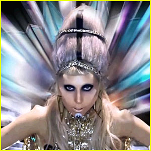 Still of Lady Gaga for her hit, Born This Way