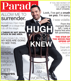 Hugh Jackman Opens Up About His Volatile Childhood In 'Parade'