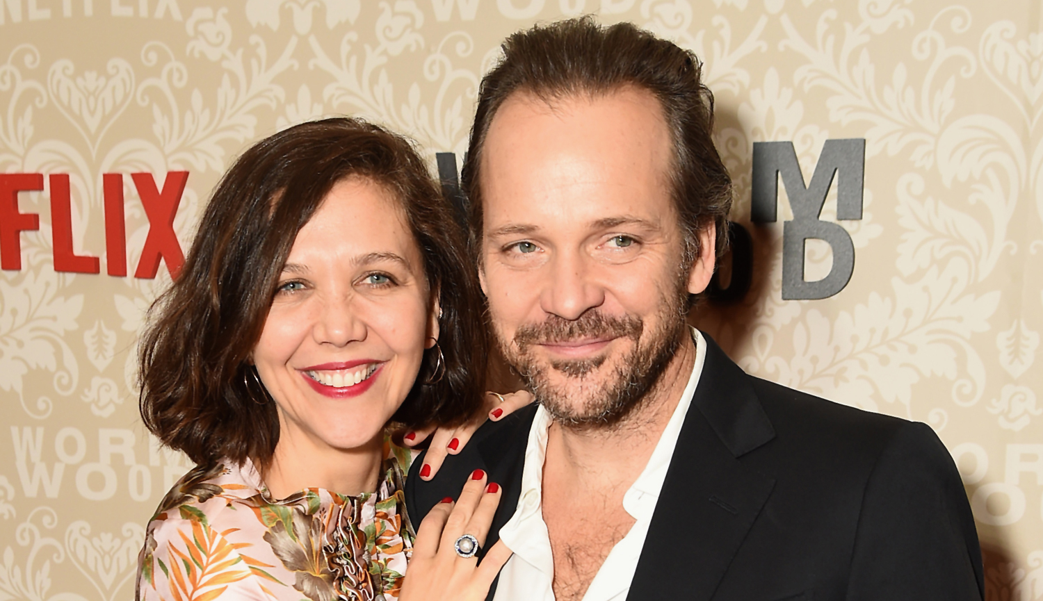 Maggie Gyllenhaal Supports Husband Peter Sarsgaard At