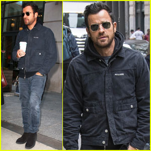 Justin Theroux Steps Out After Jennifer Aniston's Birthday!