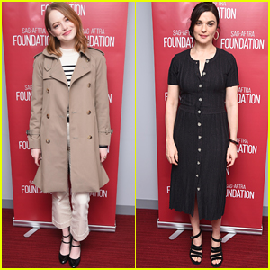 Emma Stone & Rachel Weisz Step Out for 'The Favourite' Screening in NYC!