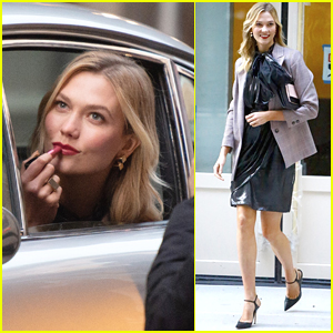 Karlie Kloss Goes Glam for Photo Shoot in NYC!