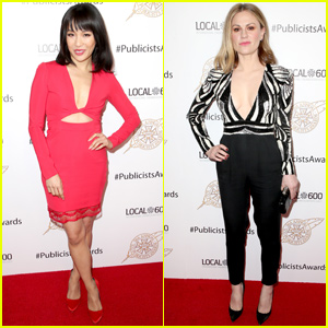 Constance Wu & Anna Paquin Step Out For Cinematographers Guild Publicists Awards