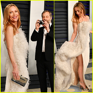 Judd Apatow Snaps Photos of Leslie Mann at Vanity Fair's Oscars 2019 Party