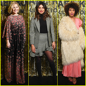 Kate Hudson, Priyanka Chopra & Kerry Washington Sit Front Row at Michael Kors NYFW Show!