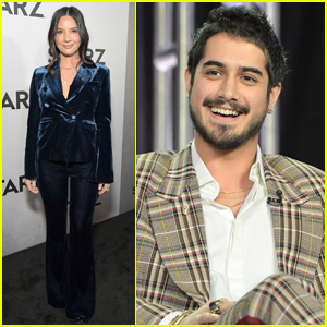 Olivia Munn & Avan Jogia Promote Their Starz Shows at TCA Tour 2019