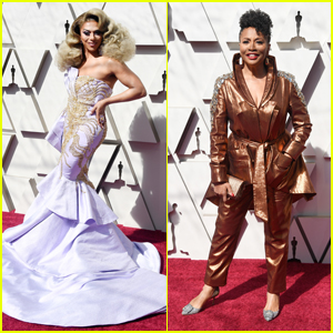 Shangela & Jenifer Lewis Are Fierce & Fabulous at Oscars 2019!