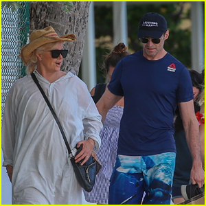 Hugh Jackman & Wife Deborra-Lee Furness Celebrate Their 23rd Anniversary in Hawaii