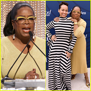 Oprah Winfrey Honored by Alicia Keys at 'THR' Event, Reveals Her Gift for Royal Baby
