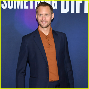 Alexander Skarsgard Looks So Handsome at 'Long Shot' Premiere!