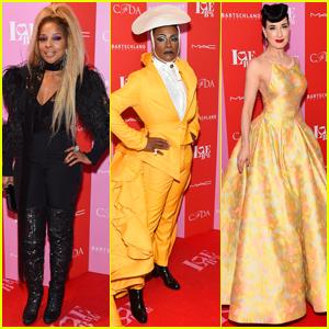 Mary J. Blige, Billy Porter, & Dita Von Teese Dress to Impress for Love Ball 2019