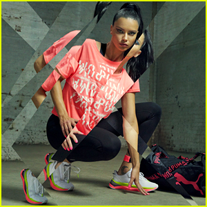 Adriana Lima Models Puma's New LQD Cell Shatter Sneakers