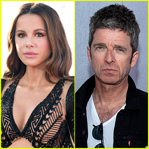 Kate Beckinsale Watches a Concert with Singer Noel Gallagher