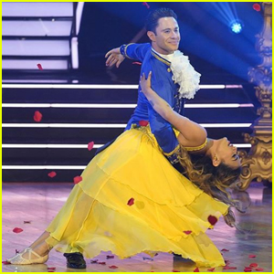 Ally Brooke Gets the Highest Score of the Season on 'DWTS' - Watch!