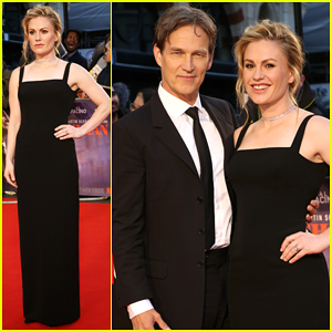 Anna Paquin & Stephen Moyer Couple Up at 'The Irishman' BFI London Film Festival Premiere!