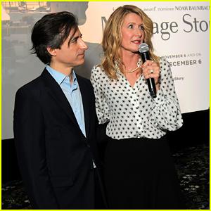 Laura Dern & Noah Baumbach Host Special 'Marriage Story' Reception & Screening!