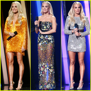See All of Carrie Underwood's Outfits from CMA Awards 2019!