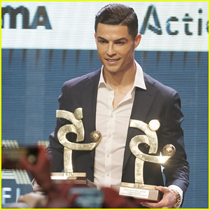 Cristiano Ronaldo Accepts Top Honor at Serie A's Gala in Italy!