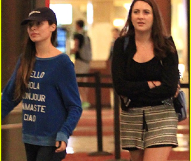 Miranda Cosgrove Heads Out To The Movies With A Friend In Los Angeles On Thursday Night September  Year Old Former Icarly Actress Kept A Low