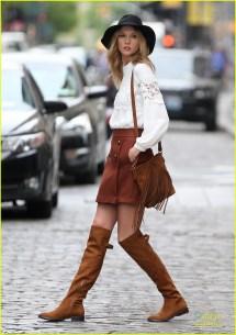 Taylor Swift Rocks Sheer Bodysuit Karlie Kloss'