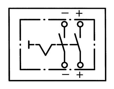 MONARK XXL batería master interruptor para coche antiguo